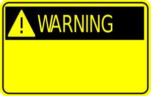 hati-hati!